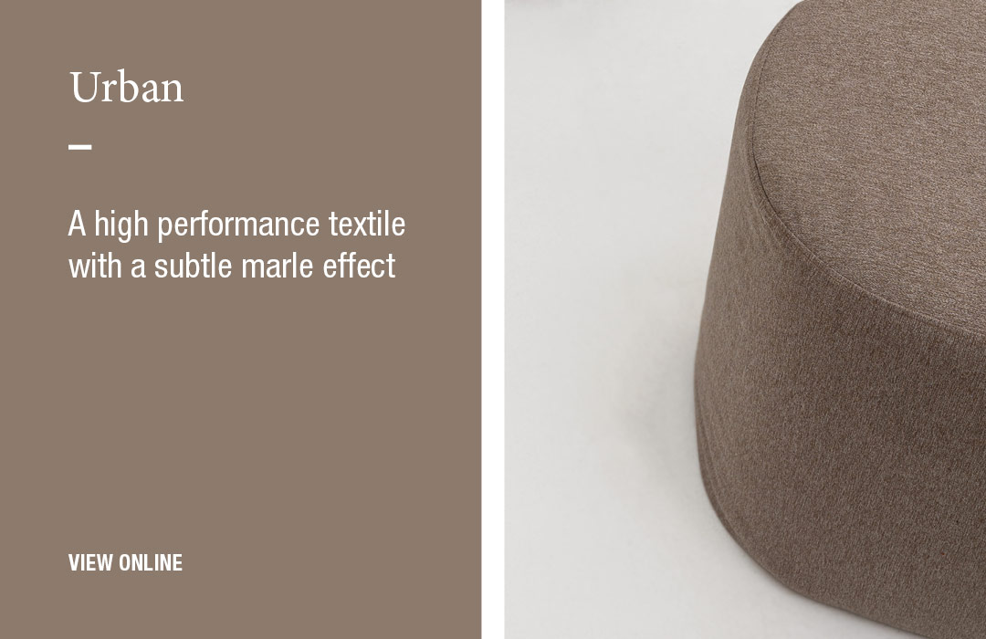 Urban: A high performance textile with a subtle marle effect