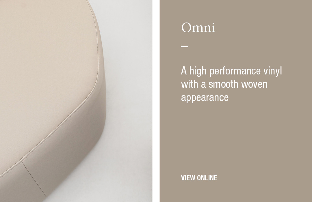 Omni: A high performance vinyl with a smooth woven appearance